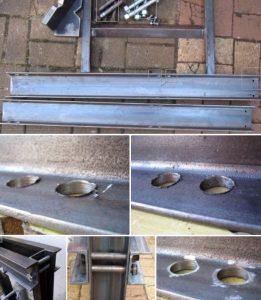 materiales de prensa hidraulica casera