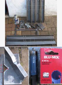 piezas de la prensa hidraulica casera