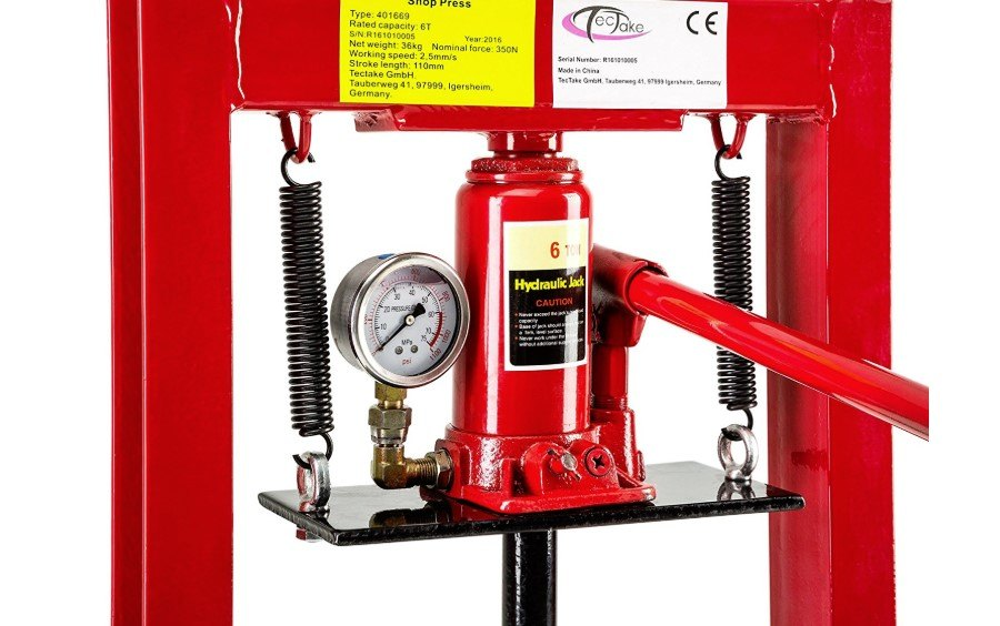 prensa hidraulica taller precio