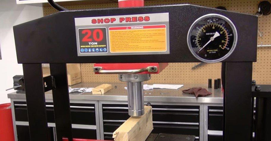 prensa taller mecanico segunda mano