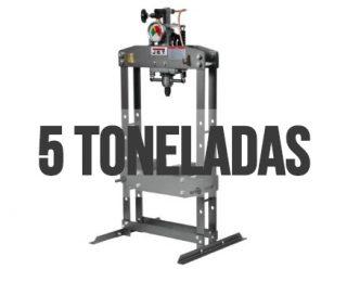 Las prensas hidráulicas de 5 toneladas