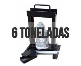 Las prensas hidráulicas de 6toneladas